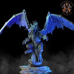 Erevos The Death Dragon With Rider
