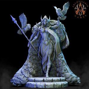 Frost Giant Queen – Cloak